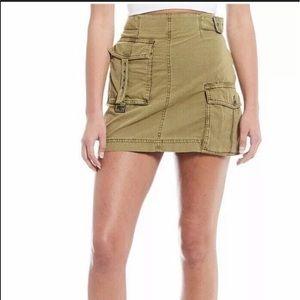 NWOT Free People Utility Skirt